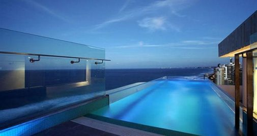 Stainless steel pool